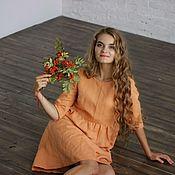 """Одежда ручной работы. Ярмарка Мастеров - ручная работа Платье """"Любовь"""" хлопок. Handmade."""