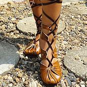"""Обувь ручной работы. Ярмарка Мастеров - ручная работа Кожаные сандалии ручной работы """"Super Sexy"""". Handmade."""