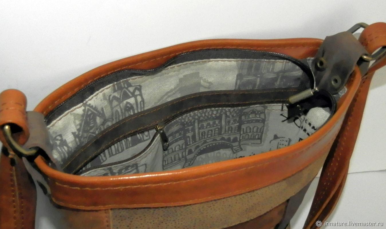 5183e2db9d9e ... Женские сумки ручной работы. Заказать Сумка ,натуральная кожа ,пэчворк  из кожи 'Old ...