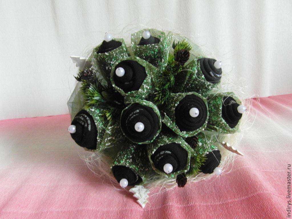 Заказать букет из носков в москве доставка цветов москва лобня