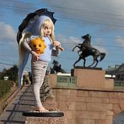 """Куклы и игрушки ручной работы. Ярмарка Мастеров - ручная работа Ангел """"Хорошо там,где я есть"""". Handmade."""