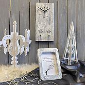 Сувениры и подарки manualidades. Livemaster - hecho a mano Marco de fotos y reloj-llavero conjunto regalo para el 8 de marzo. Handmade.