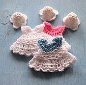 Материалы для творчества handmade. Livemaster - original item dress and hat. Item for scrapbooking. Handmade.