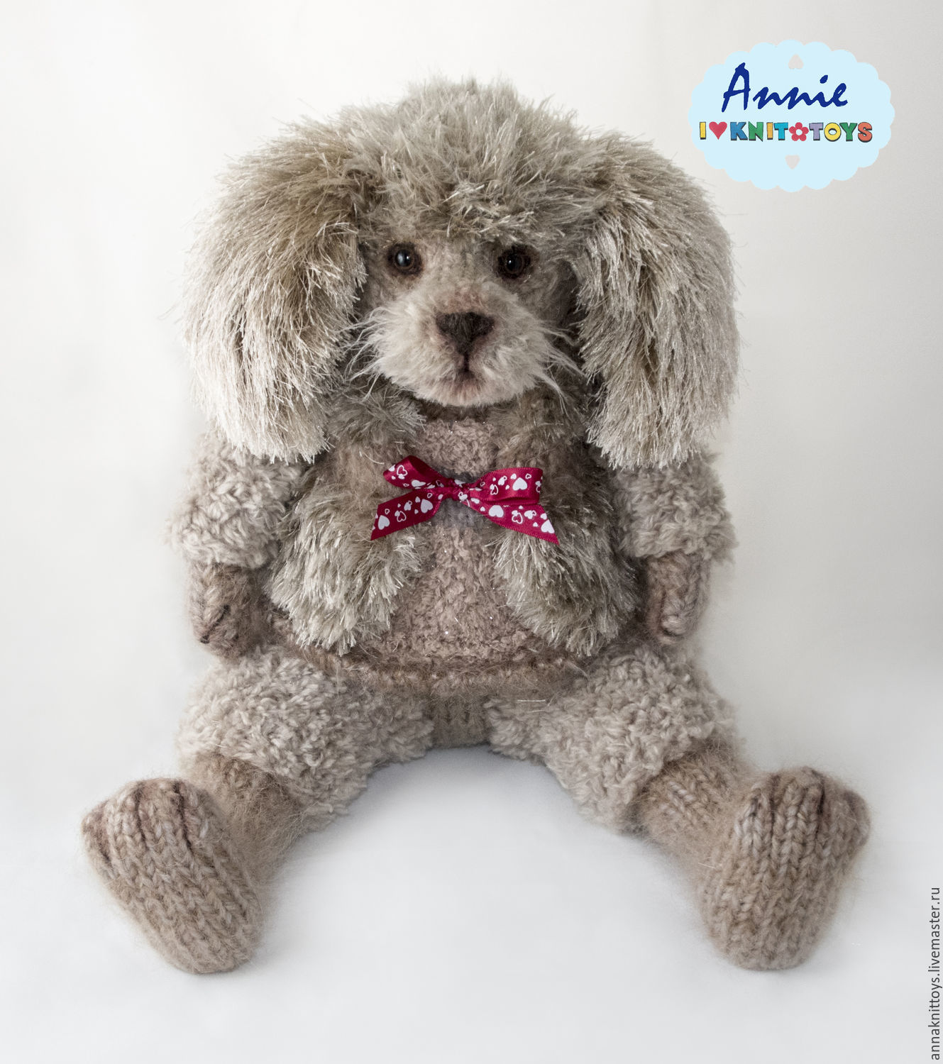 Puppy Poodle, Stuffed Toys, St. Petersburg,  Фото №1