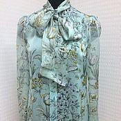 Одежда handmade. Livemaster - original item Blouse of silk