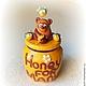 Флудилка: Горшочек для меда именной подарочный
