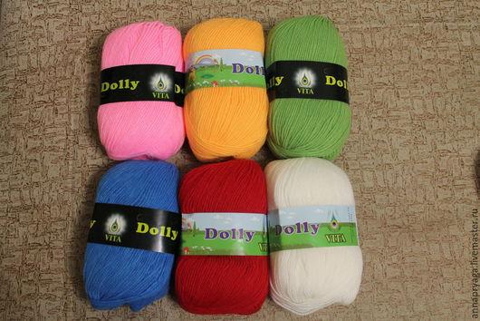 Вязание ручной работы. Ярмарка Мастеров - ручная работа. Купить Vita DOLLY. Handmade. Разноцветный, пряжа для вязания спицами