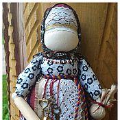 Куклы и игрушки ручной работы. Ярмарка Мастеров - ручная работа Народная кукла Берегиня дома со скалочкой. Handmade.