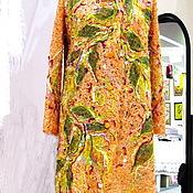 Одежда ручной работы. Ярмарка Мастеров - ручная работа Пальто Оранжевое Лето. Handmade.