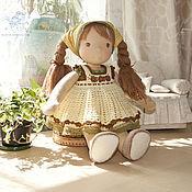 Куклы и игрушки ручной работы. Ярмарка Мастеров - ручная работа вальдорфская кукла Лёля. Handmade.