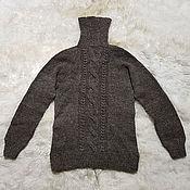 Мужская одежда handmade. Livemaster - original item Sweater 100% wool. Handmade.