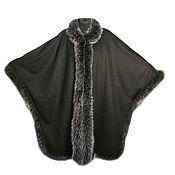 Одежда handmade. Livemaster - original item cashmere poncho (ws-01/204). Handmade.