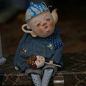 Куклы и игрушки ручной работы. Ярмарка Мастеров - ручная работа Чайная девочка Чани. Handmade.