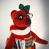 Мишки Тедди ручной работы. Ярмарка Мастеров - ручная работа Мишки Тедди: Художница Софи. Handmade.