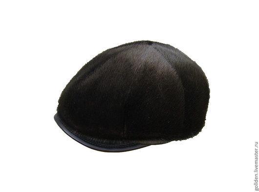 Кепки ручной работы. Ярмарка Мастеров - ручная работа. Купить Мужская кепка восьмиклинка из нерпы. Handmade. Мужские кепки