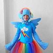 Одежда handmade. Livemaster - original item Rainbow Dash Pony. Animator-actor suit/Cosplay/Masquerade costume. Handmade.