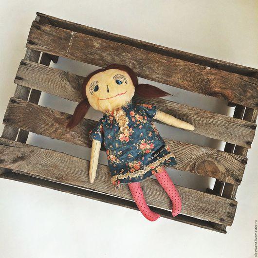 Ароматизированные куклы ручной работы. Ярмарка Мастеров - ручная работа. Купить Кукла. Чердачные секреты. Handmade. Синий, кукла