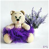Куклы и игрушки handmade. Livemaster - original item Soft toys: Green-eyed Svetlana-knitted toy. Handmade.