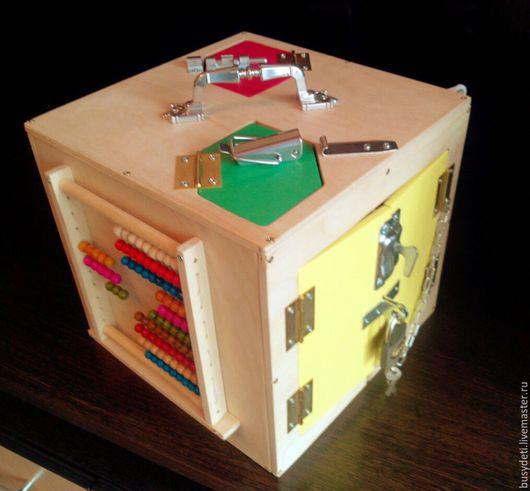 Развивающие игрушки ручной работы. Ярмарка Мастеров - ручная работа. Купить Бизиборд в наличии. Handmade. Бизиборд, купить бизиборд