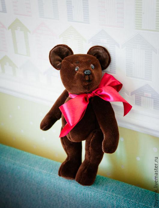Мишки Тедди ручной работы. Ярмарка Мастеров - ручная работа. Купить медведь винтажный. Handmade. Коричневый, интерьерная игрушка