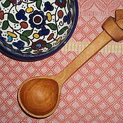 """Сувениры и подарки ручной работы. Ярмарка Мастеров - ручная работа ложка """" Я в завязке"""" из дерева. Handmade."""