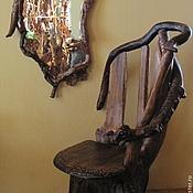 Кресло из дерева, кресло из корня.