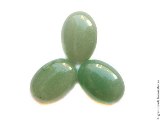 Для украшений ручной работы. Ярмарка Мастеров - ручная работа. Купить Авантюрин зеленый 18х13 мм (98120), в ассортименте. Handmade.