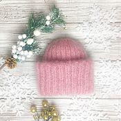 Аксессуары handmade. Livemaster - original item Knitted cap handmade