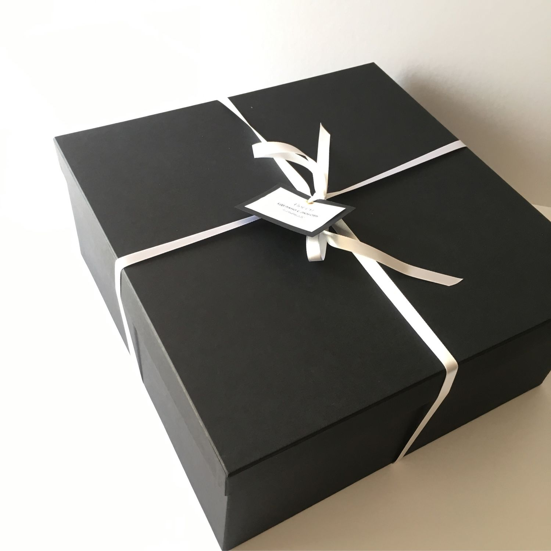 Чёрная подарочная коробка, Упаковка, Москва, Фото №1