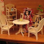 """Куклы и игрушки ручной работы. Ярмарка Мастеров - ручная работа набор в стиле """"ретро"""" для кукол 40см. в широких платьях. Handmade."""