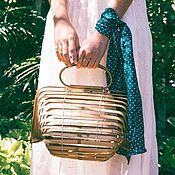 Сумки и аксессуары handmade. Livemaster - original item Summer bag made of wood. Handmade.