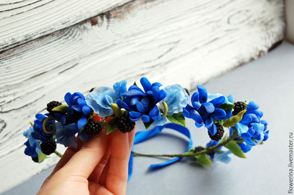 картинки с цветами синими