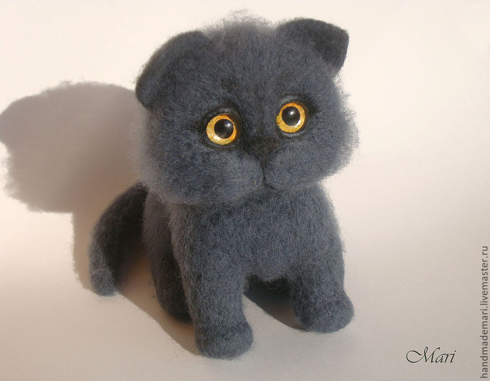 Британские котята игрушки своими руками 67
