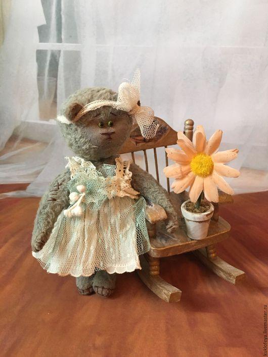 Мишки Тедди ручной работы. Ярмарка Мастеров - ручная работа. Купить Джульетта. Мишка Тедди. Handmade. Мятный, вискоза Германия