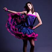 Одежда handmade. Livemaster - original item Latina dress for ballroom dance SPLENDOR DECADENCE. Handmade.