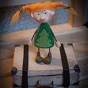 Куклы и игрушки ручной работы. Ярмарка Мастеров - ручная работа Новый год в чемодане. Handmade.