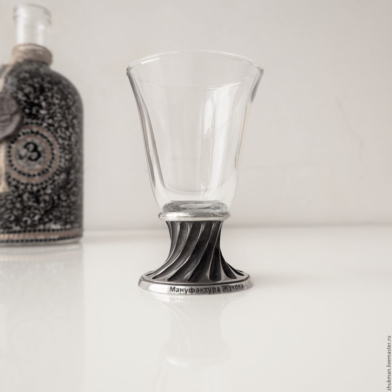A set of 'SELFISH BELL-50'. Drink and snack service plug in the case, Shot Glasses, Zhukovsky,  Фото №1