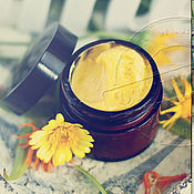 Косметика ручной работы handmade. Livemaster - original item Facial cream sea buckthorn daytime