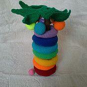 Куклы и игрушки ручной работы. Ярмарка Мастеров - ручная работа Пальма-пирамидка. Handmade.