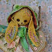 """Куклы и игрушки ручной работы. Ярмарка Мастеров - ручная работа Плюшевая зайка """"Весна"""". Handmade."""