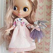 Одежда для кукол ручной работы. Ярмарка Мастеров - ручная работа Розовое платье для куклы Блайз. Handmade.