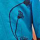 """Верхняя одежда ручной работы. Демисезонное пальто """"Ночные цветы""""- кашемир. Радченко Екатерина. Ярмарка Мастеров. Пальто с вышивкой"""