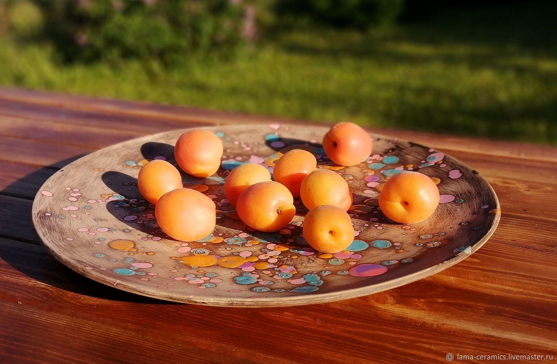 Большое блюдо, большая тарелка для фруктов, плова