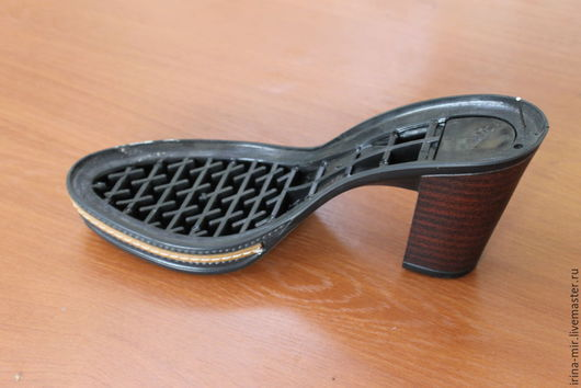 Другие виды рукоделия ручной работы. Ярмарка Мастеров - ручная работа. Купить Подошва для женской обуви VERONA с рантом. Handmade.