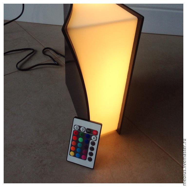 Светильник с цветным освещением настольный, , Смоленск, Фото №1