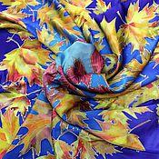 """Аксессуары ручной работы. Ярмарка Мастеров - ручная работа Платок """"Вспоминая осень"""". Handmade."""