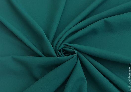 Шитье ручной работы. Ярмарка Мастеров - ручная работа. Купить Габардин морская волна Корея. Handmade. Габардин, ткань для творчества