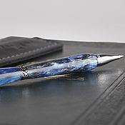Ручки ручной работы. Ярмарка Мастеров - ручная работа Ручка Chickline (Diamond) с кожаным футляром ручной работы. Handmade.