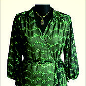 """Одежда ручной работы. Ярмарка Мастеров - ручная работа Блузка """"Черный лес"""". Handmade."""