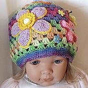Работы для детей, handmade. Livemaster - original item BEANIE for girl